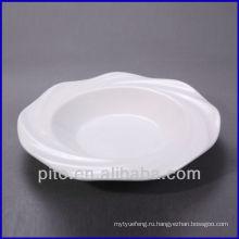 Chaozhou фарфоровый завод волна границы фарфоровая тарелка супа