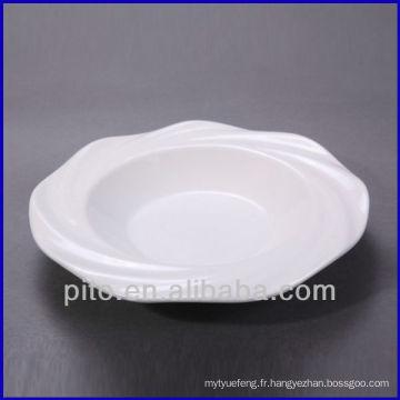 Usine de porcelaine chaozhou plate-forme de porcelaine