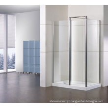 Rectangle Shower Enclosures with Side Panel + One in-Line Tl-Lws1000+Tl-Lwsp080