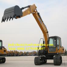 XCMG 15 ton excavadora hidráulica XE150D excavadora de oruga