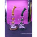 8 Zoll Glaspfeife Percolators mit unterschiedlicher Farbe