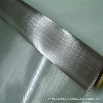Armure simple 310s 304 316 fil d'acier inoxydable rouleau de maille / filet d'écran