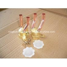 Cabezal del distribuidor de agua de 2 orificios
