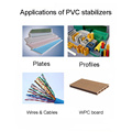 Factory supply wit poeder pvc buisstabilisator ca / ​​zn