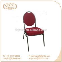 evento de acero silla de la boda sillas y mesas de banquete con respaldo redondo