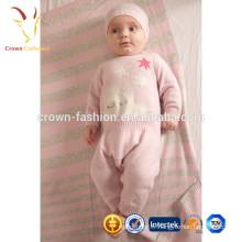 Layette de bébé en cachemire chaud et doux