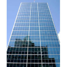 Glass & Aluminum Panel Curtain Wall