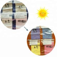 Polvo fotocromático sensible a la luz polvo de cambio de color Sun UV fotocromático pigmento para recubrimiento, esmalte de uñas.