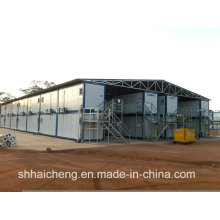 Camp de chantier construit en béton préfabriqué (shs-fp-camp061)