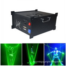 2017 newest 2W Green Laser Man Show System