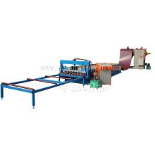 Nuevo tipo presión trasera Zinc hierro para techos hoja máquina formadora de rollos