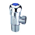 Angle stop valve for toilet or basin mixer