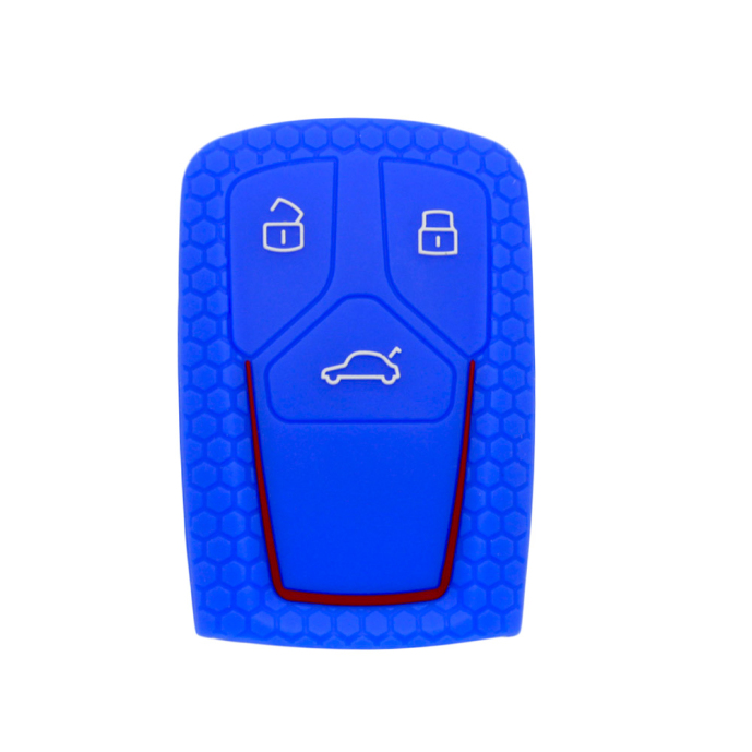 Audi B9 silicon car key case