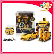 Fernbedienung Auto rc Roboter 2.4G Auto verwandeln Roboter Spielzeug