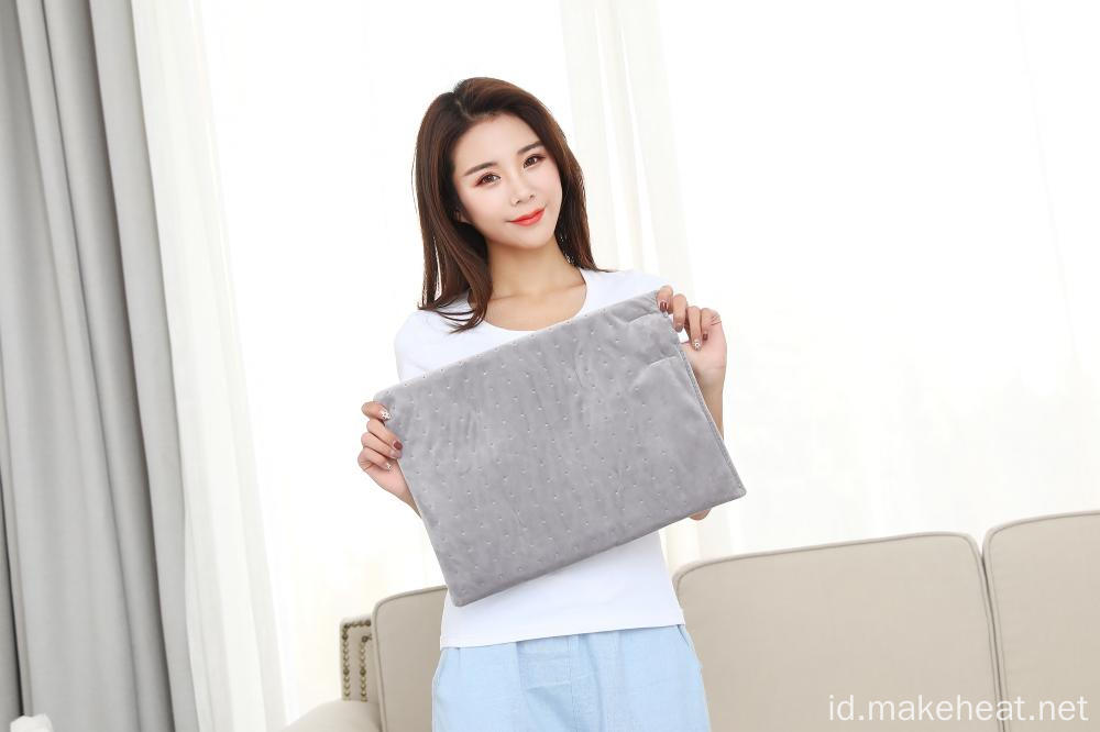UL / FDA Disetujui RAPID Heat Heat / Dry Heating Pad untuk Penetrating Heat Therapy