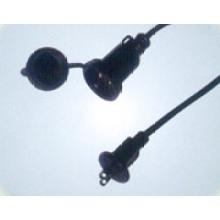 Los cables de alimentación japonesa