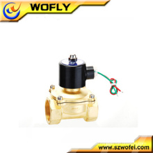 24 Volt Messing / Edelstahl normalerweise geschlossen Magnetventil Spule China Hersteller