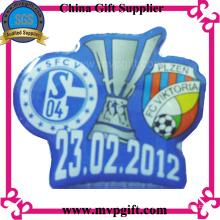 Kundenspezifisches Metallabzeichen mit Print Logo