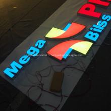 Signe de restaurant LED signe sur mesure