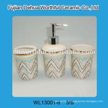 Accessoires de salle de bains en céramique les plus vendus en design coloré