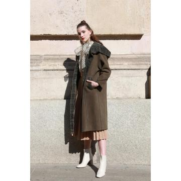 숙녀 가역 호주 Merino Shearling Coat