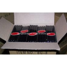 Schwarz gefärbtes Paraffin-Wachs-lange brennende Stock-Stängel-Kerzen