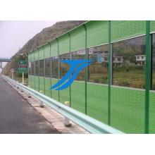 Série de verre Ts-Sound Barrier pour tunnels