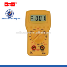 Pocket-size Multimeter M301with Battery Test