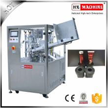 Máquina automática de llenado y sellado de tubos de plástico para acondicionador de cabello