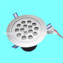 Qualitativ hochwertige Produkte Innenanwendung 12w 15w 18w AC85-265v 48v DC führte Downlight für Flughafen