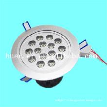 Высокое качество продукции в помещении использовать 12w 15w 18w AC85-265v 48v постоянного тока привело downlight для аэропорта