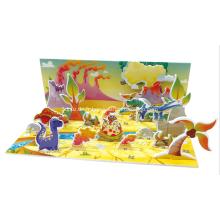 3D Puzzle World dinosaure