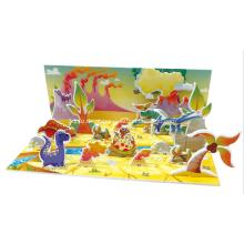 3D Puzzle dinossauro mundo