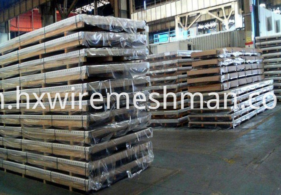 alu punched metal mesh packing
