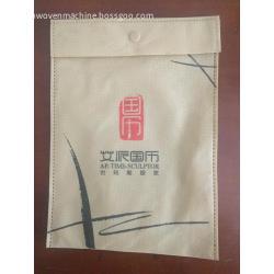 Small size button ultrasonic non woven advertising bag