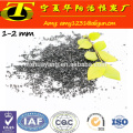 Bulk pellet activated carbon for air purification