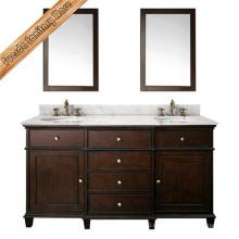 Шкаф ванной комнаты ванной комнаты высокого качества Fed-1526D классицистический
