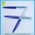 Novidade flutuador bola caneta personalizadas cores e pena flutuante líquida seu logotipo impresso