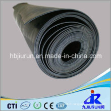 Feuille en caoutchouc noire de néoprène de CR de 5mm avec le prix concurrentiel