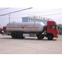 Dongfeng Tianlong 8 * 4 34.5m3 LPG camión para la venta