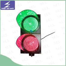 LED de alta visibilidad Solar Powered tráfico luz intermitente / señal de parpadeo de la lámpara