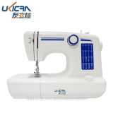 Double Needle LED light sewing machine with auto winding