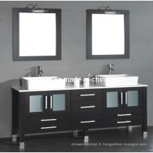 Meuble-lavabo double évier (BA-1130)