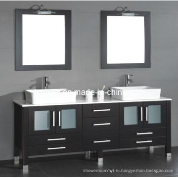 Двойная Тщета ванной комнаты раковины (БА-1130)