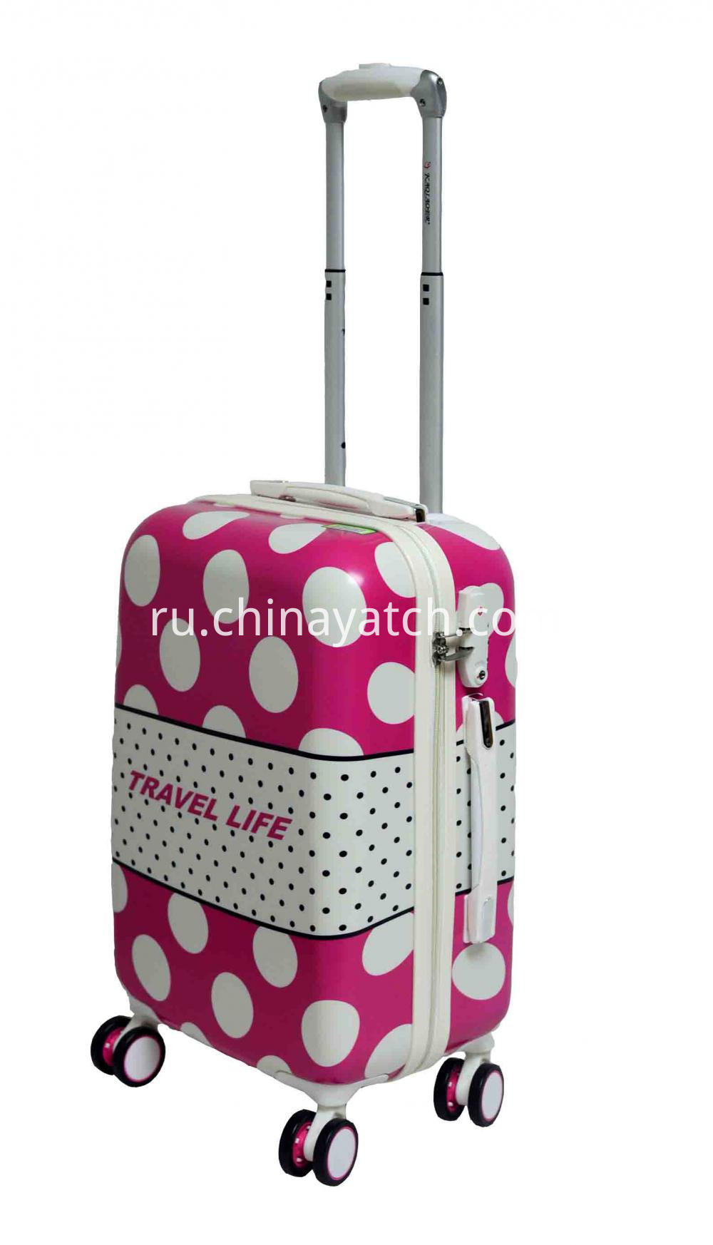 PC Luggage with Aluminum Tube