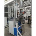 Machine de remplissage de dessiccant de tamis moléculaire en verre isolant