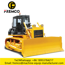 Bulldozer sur chenilles de machines de construction