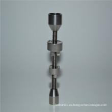Clavo de titanio Duo 14 / 18mm para fumar al por mayor (ES-TN-045)