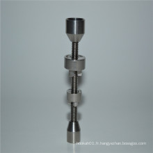 Duo 14 / 18mm Dome Titanium Nail for Wholesale Smoking (ES-TN-045)