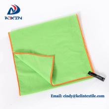 Sport Handtuch Mikrofaser Handtücher Bad Wildleder Handtuch Lime Green